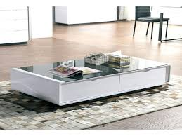 high gloss coffee tables white table unique black glass w 2 storage drawers adelaide