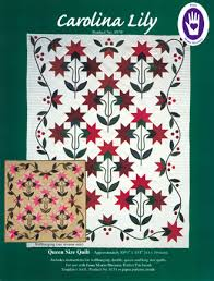 Carolina Lily at From Marti featuring Quilting with The Perfect ... & Carolina Lily Quilt pattern Adamdwight.com