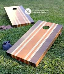 Wooden Corn Hole Game Wooden Corn Hole Game Murfreesborotnhomeinspector 4