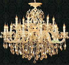 gold and crystal chandelier edrexco for modern household gold crystal chandelier ideas