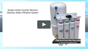 Where To Get Reverse Osmosis Water Ewater Under Counter Reverse Osmosis Water Filtration System On Vimeo
