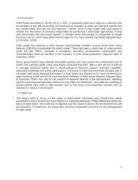 solid waste management final essay final pdf