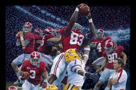 daniel moore s print restoring the order showing the university of alabama s victory