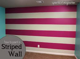paint striped wall