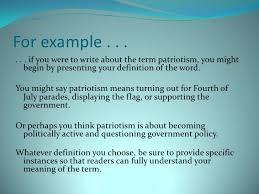 definition essay 7