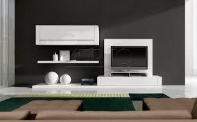 contemporary tv wall unit  lacquered wood  nagare c  a brito