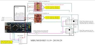 mirumod ar drone v1 0 and v2 0 wifi less mod by miru diagram below pick the one that matches your ar drone mainboard thanks to jevgenij for providing the pinout of the hw 2 2 version