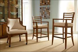 Dining Room Chairs With Arms And Casters Image Intended Upholstered Dining Product 3645 Image Intended
