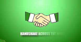 Image result for Handshake Across the Niger