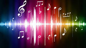 46+] Neon Music Notes Wallpaper on ...