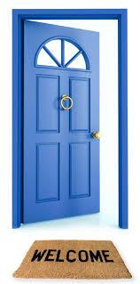 Open Front Door Welcome Open Front Door Welcome Doortodumpus