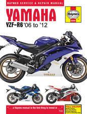 yamaha r6 manual 2006 2012 yamaha yzf r6 haynes repair manual fits yamaha