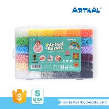 mm colors box set artkal fuse beads fashion educational toys 5mm 36 colors box set artkal fuse beads fashion educational toys perler beads