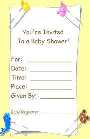 Free Printable Baby Shower Invitation Maker Birthday Card