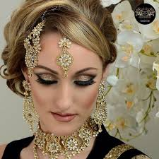 indian bridal bollywood inspired hair makeup beauty bridal fashion editorial