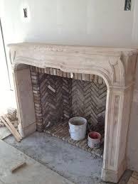 Atlanta Limestone Fireplace Surrounds Living Room Mediterranean Limestone Fireplace Mantels