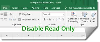 How To Disable Read Only In Excel 2016 Isumsoft