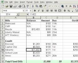 How To Build A Budget Spreadsheet Make Budget Worksheet House Build