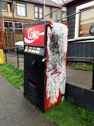 How To Rob A Soda Vending Machine Unique Seattle's Possiblyhaunted Mystery Coke Machine Boing Boing