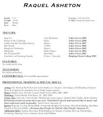 Theatre Resume Templates Simple Music Resume Template Acting Resume Template Awesome Music Resume