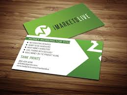 Buiness Cards Imarketslive Business Cards Tank Prints
