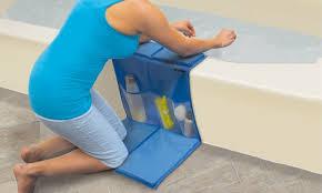 ideaworks kneeling bathtub caddy