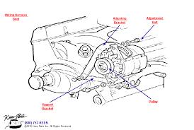 c3 corvette small block alternator parts parts & accessories for 1979 Corvette Alternator Wire Diagram small block alternator diagram for a c3 corvette 1979 corvette alternator wire diagram