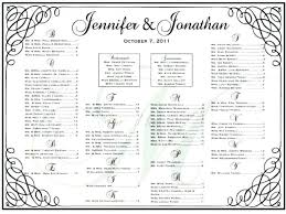 Printable Wedding Table Planner Download Them Or Print