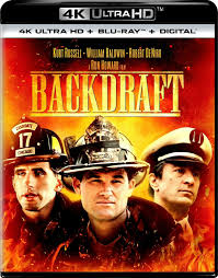 Backdraft 4k Ultra HD Blu-ray Digital 2019 Kurt Russell Baldwin Robert De  Niro for sale online | eBay
