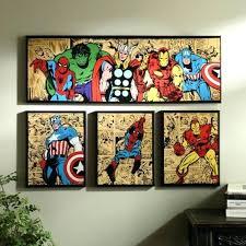 Marvel Avengers Room Ideas Bedroom Decorating Decor Comics Boys Character .