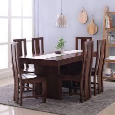 dining table set. Jordan Capra 6 Seater Dining Table Set Walnut Frtbdt11wn10027 Lifestyle A