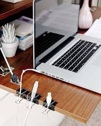 office desk organization ideas. Diy-home-office-organization-ideas-declutter-cables-binder- Office Desk Organization Ideas Z