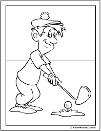 Small Picture Golf Coloring Pages Customize And Print PDF
