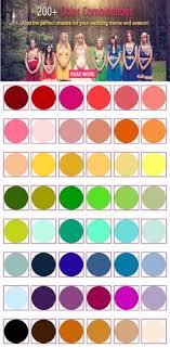 Wedding Color Chart 276 Best Wedding Color Palettes Images In 2019 Wedding