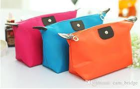 2019 waterproof nylon cosmetic makeup bags handbag purse pouch zipper nice design reusable portable cosmetic bags a310 from cam bridge 0 82 dhgate