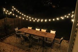 patio light strings astound outdoor lights string exterior ideas
