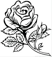 coloring pages flowers printable big flower free beautiful rose colouring page