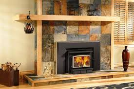 image of wood fireplace inserts