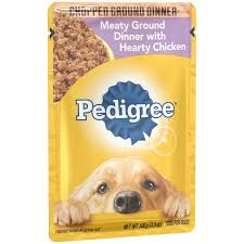 pedigree chopped meaty ground dinner with hearty en wet dog food 3 5oz