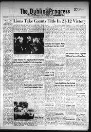 The Dublin Progress (Dublin, Tex.), No. 28, Ed. 1 Thursday, October 8, 1964  - Page 1 of 8 - The Portal to Texas History