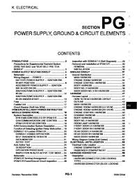 2006 infiniti qx56 power supply ground circuit elements 2006 infiniti qx56 power supply ground circuit elements section pg 78 pages