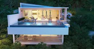 Luxury modern villas  sea views Koh Samui