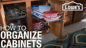 How To Install Cabinet Organizers Youtube