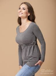 Clothing for large breast women