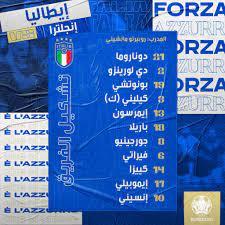 نتيجة مباراة ايطاليا وإنجلترا اليوم 11-07-2021 نهائي اليورو