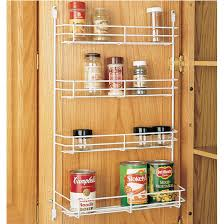 cabinet organizers kitchen cabinet wire door mount e rack by rev a shelf kitchensource com