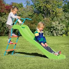 Amazon.com: Pure Fun Home Playground Equipment: 6' Indoor/Outdoor Wavy Slide,  Youth Ages 4 to 10: Sports & Outdoors