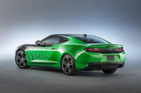 chevrolet camaro 2016 concept. this concept features a striking u201ckryptonu201d green exterior that is said to create chevrolet camaro 2016 n