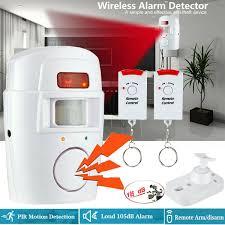 Honeywell Motion Sensor Red Light Details About Wireless Motion Sensor Alarm Security Detector Indoor Outdoor Alert System 105db