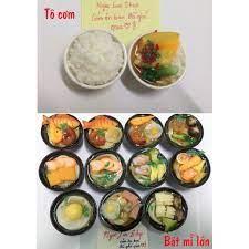 Mô hình đồ ăn nhỏ cho búp bê